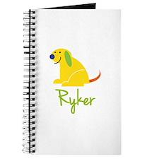 Ryker Loves Puppies Journal