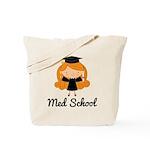Cute Med School Graduate Tote Bag