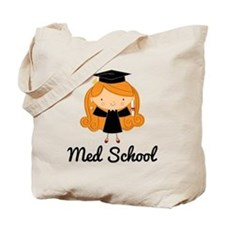 Cute Med School Graduate Tote Bag
