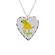 Rylee Loves Puppies Necklace