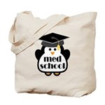 Med School penguin Tote Bag