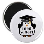 Med School penguin Magnet