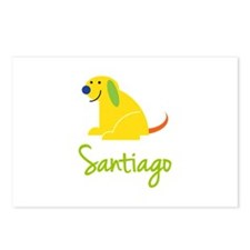 Santiago Loves Puppies Postcards (Package of 8)