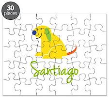 Santiago Loves Puppies Puzzle
