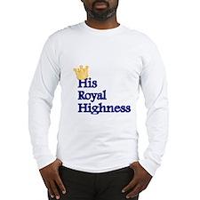 His Royal Highness Long Sleeve T-Shirt