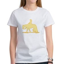 Pastel yellow Western Tee Jr. Ringer Pleasure T-Sh