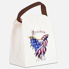 American Freedom, 1776 Canvas Lunch Bag