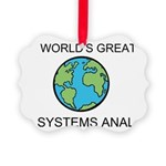 Worlds Greatest Systems Analyst Ornament