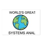 Worlds Greatest Systems Analyst Postcards (Package