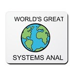 Worlds Greatest Systems Analyst Mousepad