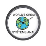 Worlds Greatest Systems Analyst Wall Clock