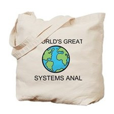 Worlds Greatest Systems Analyst Tote Bag