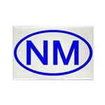 NM Oval - New Mexico Rectangle Magnet (100 pack)