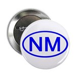 NM Oval - New Mexico Button
