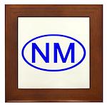 NM Oval - New Mexico Framed Tile