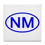 NM Oval - New Mexico Tile Coaster