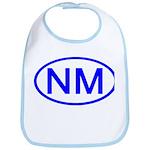 NM Oval - New Mexico Bib