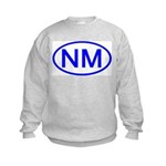 NM Oval - New Mexico Kids Sweatshirt