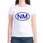 NM Oval - New Mexico Jr. Ringer T-Shirt