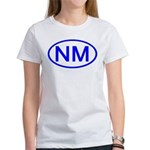 NM Oval - New Mexico Women's T-Shirt