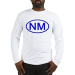 NM Oval - New Mexico Long Sleeve T-Shirt