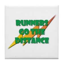 Runners Go the Distance Tile Coaster