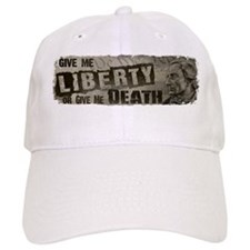 Patrick Henry Quote - Liberty or Death Baseball Cap
