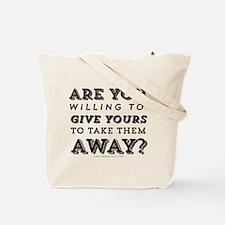 Give My Life 2nd Amendment Tote Bag