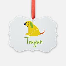 Teagan Loves Puppies Ornament