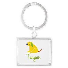 Teagan Loves Puppies Keychains
