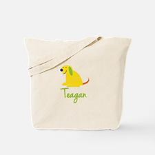 Teagan Loves Puppies Tote Bag