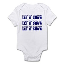 Let it snow  Infant Bodysuit