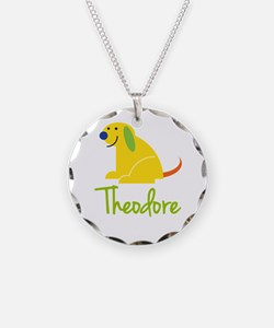 Theodore Loves Puppies Necklace