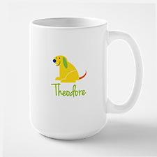 Theodore Loves Puppies Mug