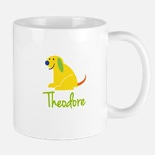 Theodore Loves Puppies Small Mugs