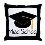Gift For Med School Graduate Throw Pillow