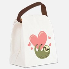 Sloth Canvas Lunch Bag