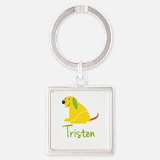 Tristen Loves Puppies Keychains