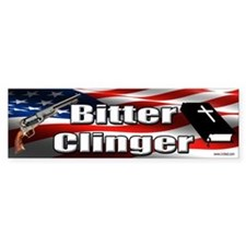 Bitter Clinger Bumper Bumper Sticker Bumper Bumper Sticker