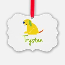 Trystan Loves Puppies Ornament