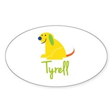 Tyrell Loves Puppies Decal
