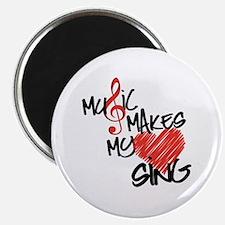Singing Heart Magnet