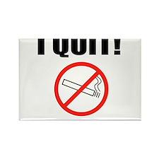 I QUIT SMOKING Rectangle Magnet