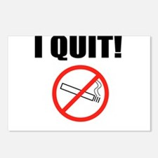I QUIT SMOKING Postcards (Package of 8)
