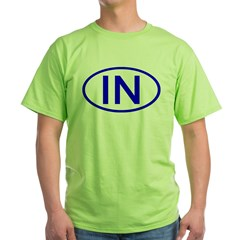 IN Oval - Indiana T-Shirt