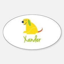 Xander Loves Puppies Decal