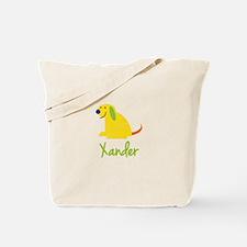 Xander Loves Puppies Tote Bag