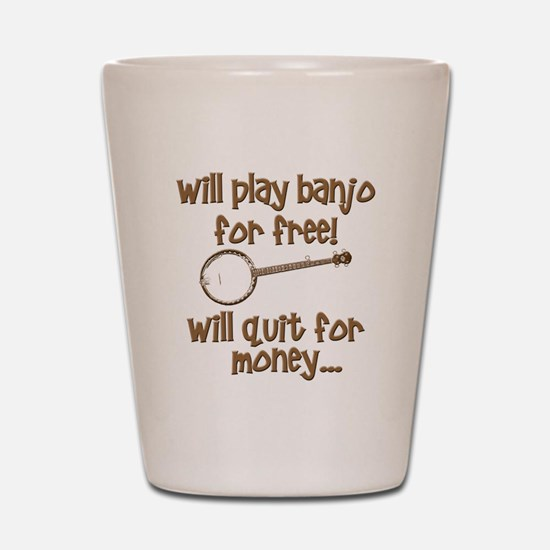 Banjo Shot Glass