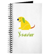 Xzavier Loves Puppies Journal