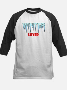 WINTER LOVER Kids Baseball Jersey